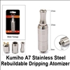 Kumiho A7 Stainless Steel Rebuildable Dripping Atomizer