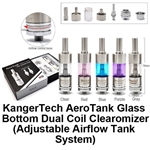 Kanger Aerotank V2 with Upgraded Bottom Dual Coil