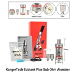 Kanger Subtank Plus Clearomizer (Organic Cotton Coil)