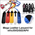 Mega Ego Leather Lanyard