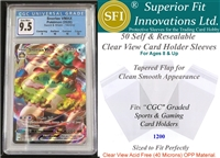 Superior Fit Sleeves for CGC Graded Card Slabs