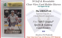 Superior Fit Sleeves MNT Graded Card Slabs