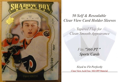 Superior Fit Sleeves for 360 PT Sports Cards