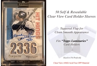 Superior Fit Sleeves for TOPPS Luminaries Sports Card Holders