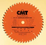 "CMT 207.048.08 8-1/2"" Diameter X 48T ATB Compound Miter Saw Blade With 5/8"" Arbor (.118 Kerf)"