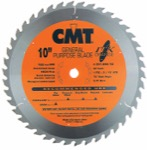 "CMT 251.042.10 10"" Diameter X 42T ATB Industrial Thin Kerf General Purpose Saw Blade With 5/8"" Arbor"