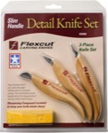 Flexcut KN400 Slim Handle Detail Knife Set