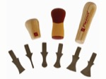 flexcut SK120 Carving Scraper Set (Handles Not Included)
