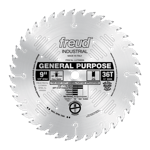 "Freud LU72M009 9"" Diameter X 36T ATB General Purpose Carbide-Tipped Saw Blade With 5/8"" Arbor (.126"