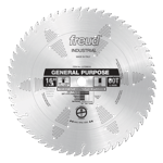 "Freud LU72M016 16"" Diameter X 60T ATB General Purpose Carbide-Tipped Saw Blade With 1"" Arbor (.150 K"