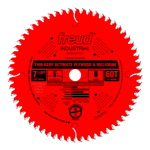 "Freud LU79R007 7"" Diameter X 60T Hi-ATB Thin Kerf Ultimate Plywood & Melamine Carbide Tipped Saw Bla"