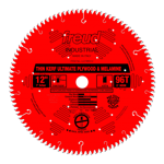 "Freud LU79R012 12"" Diameter X 96T Hi-ATB Thin Kerf Ultimate Plywood & Melamine Carbide Tipped Saw Bl"