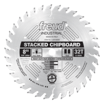 "Freud LU81M008 8"" Diameter X 32T TCG Heavy Duty Multipurpose Carbide-Tipped Saw Blade With 5/8"" Arbo"