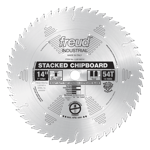 "Freud LU81M014 14"" Diameter X 56T TCG Heavy Duty Multipurpose Carbide-Tipped Saw Blade With 1"" Arbor"