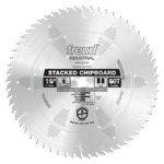 "Freud LU81M016 16"" Diameter X 60T TCG Heavy Duty Multipurpose Carbide-Tipped Saw Blade With 1"" Arbor"