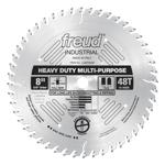 "Freud LU82M008 8"" Diameter X 48T TCG Stacked Chipboard Carbide-Tipped Saw Blade With 5/8"" Arbor (.12"