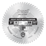 "Freud LU82M009 9"" Diameter X 56T TCG Stacked Chipboard Carbide-Tipped Saw Blade With 5/8"" Arbor (.12"