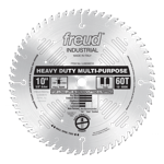 "Freud LU82M010 10"" Diameter X 60T TCG Stacked Chipboard Carbide-Tipped Saw Blade With 5/8"" Arbor (.1"