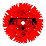 "Freud LU84R008 8"" Diameter X 40T Comb Coated Combination Carbide-Tipped Saw Blade With 5/8"" Arbor (."