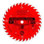 "Freud LU86R008 8"" Diameter X 34T ATB Thin Kerf General Purpose Carbide Tipped Saw Blade With 5/8"" Ar"