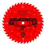 "Freud LU86R010 10"" Diameter X 40T ATB Thin Kerf General Purpose Carbide Tipped Saw Blade With 5/8"" A"