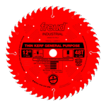 "Freud LU86R012 12"" Diameter X 48T ATB Thin Kerf General Purpose Carbide Tipped Saw Blade With 1"" Arb"