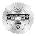 "Freud LU92M008 8"" Diameter X 48T MTCG Thick-Stock Laminate Carbide-Tipped Saw Blade With 5/8"" Arbor"