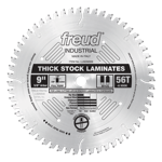 "Freud LU92M009 9"" Diameter X 56T MTCG Thick-Stock Laminate Carbide-Tipped Saw Blade With 5/8"" Arbor"