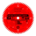 "Freud LU96R008 8"" Diameter X 64T Coated Thin Kerf Carbide-Tipped Double Sided Laminate Saw Blade Wit"