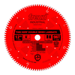 "Freud LU96R012 12"" Diameter X 96T Coated Thin Kerf Carbide-Tipped Double Sided Laminate Saw Blade Wi"