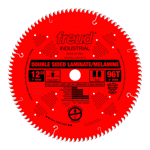 "Freud LU97R012 12"" Diameter X 96T TCG Double Sided Laminate/Melamine Carbide-Tipped Saw Blade With 1"