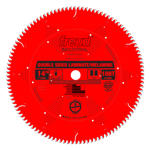 "Freud LU97R014 14"" Diameter X 108T TCG Double Sided Laminate/Melamine Carbide-Tipped Saw Blade With"