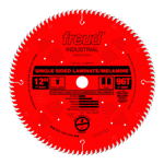 "Freud LU98R012 12"" Diameter X 96T TCG Single Sided Laminate/Melamine Carbide-Tipped Saw Blade With 1"