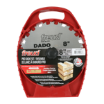 "Freud SD208 8"" Diameter X 12T Pro Dado Carbide-Tipped Saw Blade Set With 5/8"" Arbor"