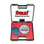 "Freud SD506 6"" Diameter X 20T Super Dado Carbide-Tipped Saw Blade Set With 5/8"" Arbor"