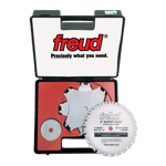 "Freud SD508 8"" Diameter X 24T Super Dado Carbide-Tipped Saw Blade Set With 5/8"" Arbor"