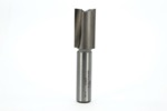"Whiteside 1083 11/16"" Diameter X 1-1/4"" Double Flute Straight Router Bit (1/2"" Shank)"