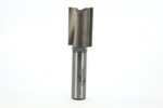 "Whiteside 1091 7/8"" Diameter X 1-1/4"" Double Flute Straight Router Bit (1/2"" Shank)"
