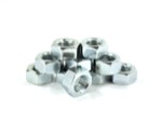 "Whiteside 31224N 5/16-24 Thread Size, 1/4"" Width, & 1/2"" Hex Size Hex Nut 10pc Pack"