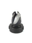 "Whiteside 8060010 Standard Carbon Steel Countersink #10 C'sink, 13/64"" Drill Size 1/2"" C'sink Dia 5/"