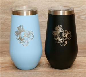 16 oz Latte and Wine tapered tumbler