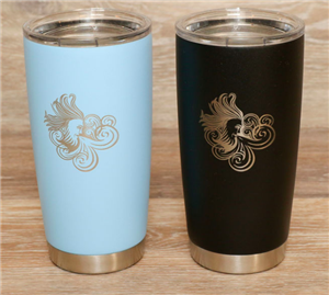 20 oz Insulated Tumbler with laser etched Aeolus logo