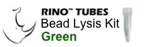 #3ISGREENR1 GREEN RINO Bead Lysis Kit - small tough samples, 1 pack of 50, Non-sterile