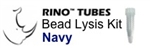#3ISNAVYR1 NAVY RINO Bead Lysis Kit - larger tough samples, 1 pack of 50, Non-sterile