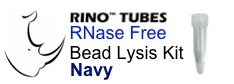 #3ISNAVYR5-RNA NAVY RINO Bead Lysis Kit - larger tough samples, 1 pack of 250, Sterile, RNase free