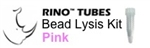 #3ISPINKR1 PINK RINO Bead Lysis Kit - small soft samples, 1 pack of 50, Non-Sterile