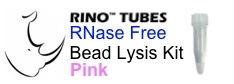 #3ISPINKR1-RNA PINK RINO Bead Lysis Kit - small soft samples, 1 pack of 50, Sterile, RNase free