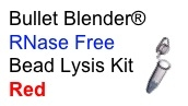 #3ISREDE1-RNA RED Bead Lysis Kit - larger soft samples, 1 pack of 50, Sterile, RNase free.