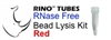 #3ISREDR5-RNA RED RINO Bead Lysis Kit - larger soft samples, 1 pack of 250, Sterile, RNase free