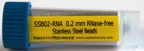 #3ISSSB02-RNA Stainless steel beads, 0.2 mm RNase free, 4 mL